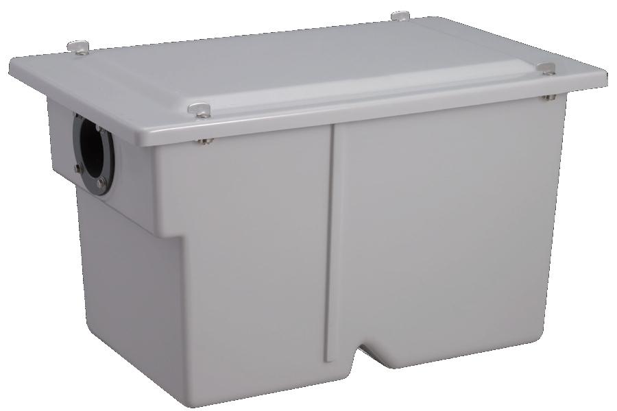 前澤化成工業 FRP製グリーストラップ 小容量床置き型(容量20L) ターンロック式 GT-20FT 【GT-20FP後継品】