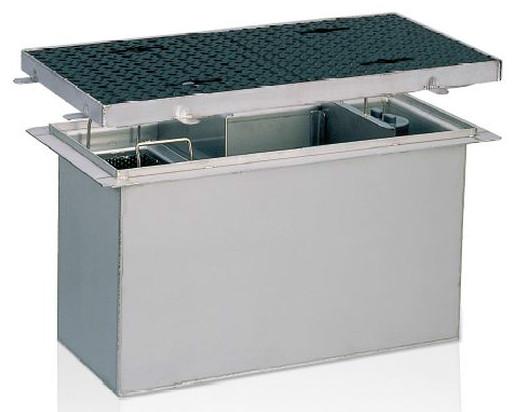 前澤化成工業 SUS製グリーストラップ 側溝流入埋設型(容量150L) GTS-150ST