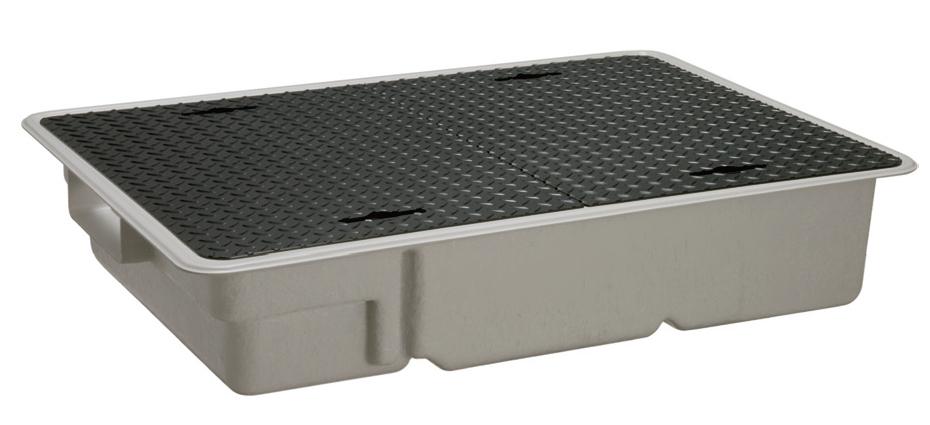 前澤化成工業 FRP製グリーストラップ 側溝流入超浅型(容量20L) GT-XL20S【GT-303SL後継品】