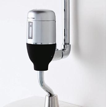 ミナミサワ 便器用自動洗浄器フラッシュマン FM6TFシリーズ 露出配管専用タイプ シルバーモデル FM6TF2-S