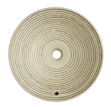 SANEI 三栄水栓 洗面器(埋込型・オーバーフロー) 利楽 渦 HW1024P-009