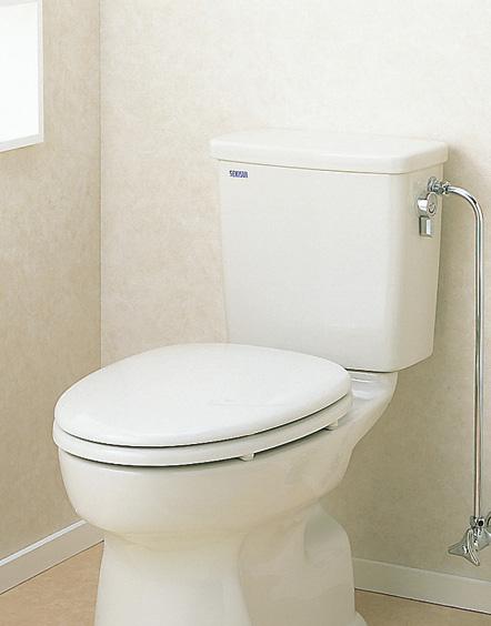 セキスイ(SEKISUI) 簡易水洗便器リブレット 洋風陶器製手洗なしロータンク式 AY-D(N) 暖房便座仕様 RVA51W