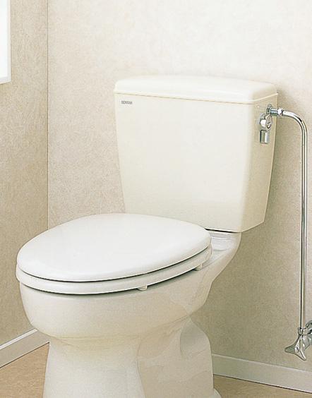セキスイ(SEKISUI) 簡易水洗便器リブレット 洋風樹脂製手洗なしロータンク式 TY(N) RVT10W