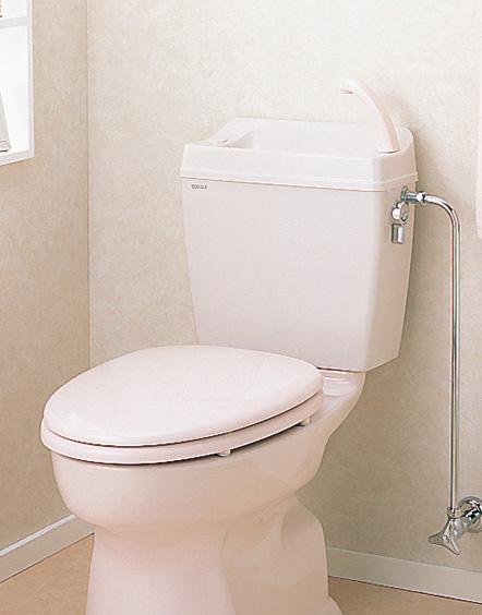 セキスイ(SEKISUI) 簡易水洗便器リブレット 洋風樹脂製手洗付ロータンク式 TY-TD(N) 暖房便座仕様 RVT21P