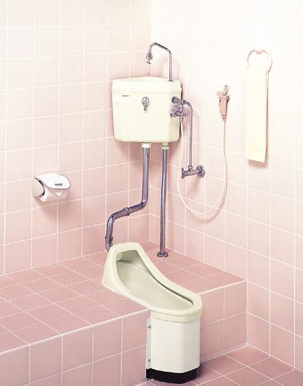 セキスイ(SEKISUI) 簡易水洗便器リブレット 和風樹脂製ロータンク式 TW-T(N) RVW70W