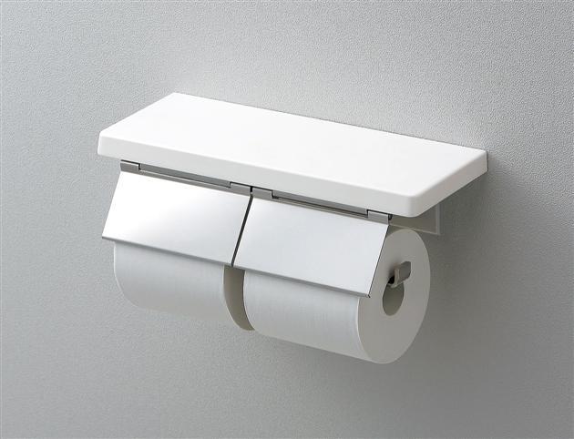 男女兼用 お金を節約 TOTO 棚付二連紙巻器 マットタイプ YH403FW
