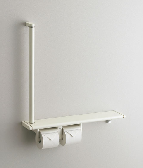 TOTO フロントワンタッチ 紙巻器一体型手すり(収納なし) YHB62RS YHB62LS