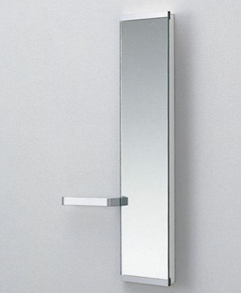 TOTO スリムタイプC タオル掛け付化粧鏡 UGM150HR UGM150HL