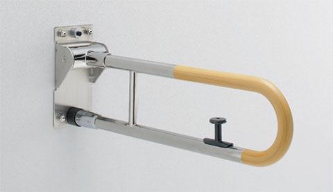 名作 TOTO パブリック用手すりはね上げタイプ(ロック付き) T114HK8R, リカーショップ ヒラオカ:0ae88b34 --- askamore.com