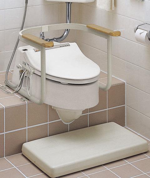 TOTO 和風改造用腰掛便器用 トイレ用手すり EWC211AR