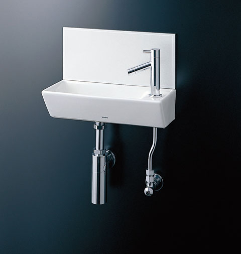 TOTO 壁掛手洗器 ボトルトラップ(壁給水・壁排水) LSH40BAPN