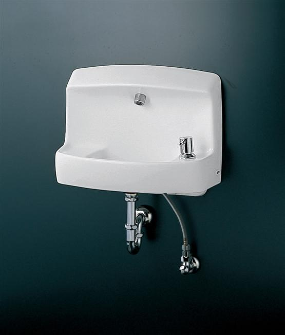 TOTO コンパクト手洗器 ハンドル式水栓セット LSL870APR LSL870ASR
