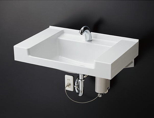 TOTO カウンター一体形洗面器セット MVRS45P + TENA40A