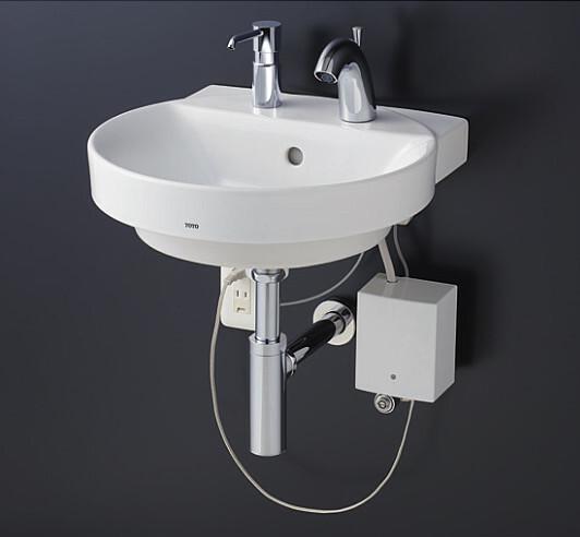 定番 TOTO ベッセル式洗面器セット 自動水栓・水石けん入れセット ボトルトラップ 壁給水 壁排水 壁給水 LSE704BAPMWR, キヨタケチョウ:73a38f90 --- delivery.lasate.cl