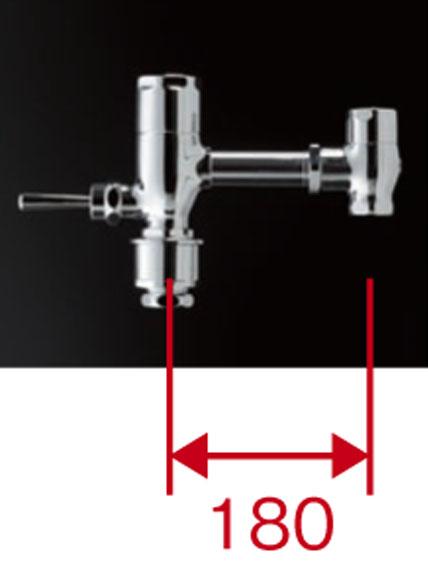 TOTO 節水形フラッシュバルブ本体標準品 ハンドル式 TV550CS