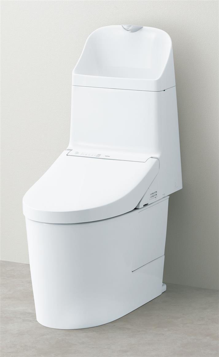 TOTO ウォシュレット一体型便器 リモデル便器(床排水)手洗付き GG3-800 CES9334ML