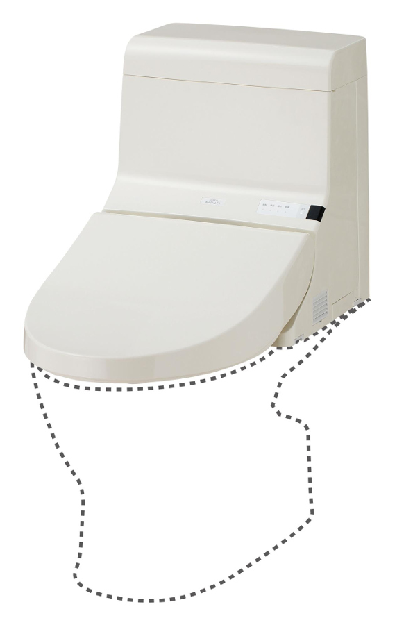 TOTO ウォシュレット一体形取替機能部 手洗なし TCF926