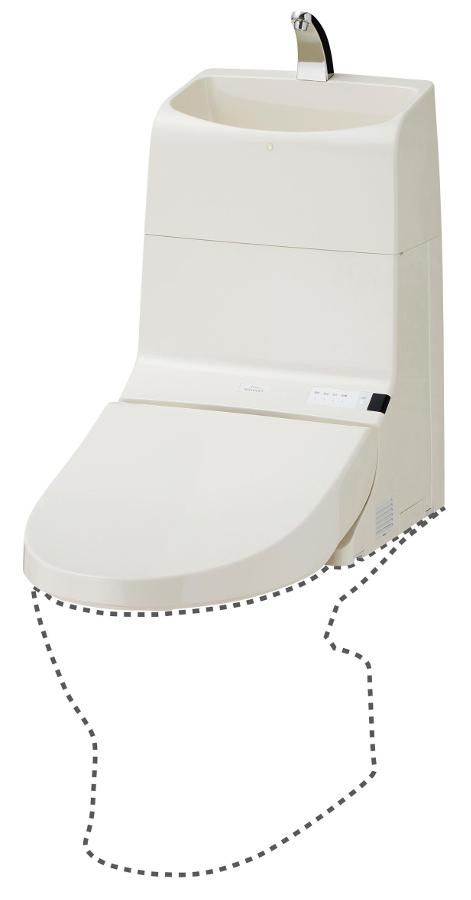 TOTO ウォシュレット一体形取替機能部 手洗付 TCF917R
