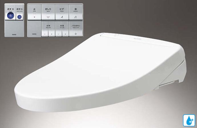 TOTO ウォシュレットアプリコットP AP2A オート便器洗浄タイプ タンク式便器用 タッチスイッチ(エコリモコン)便ふたあり TCF5830AM