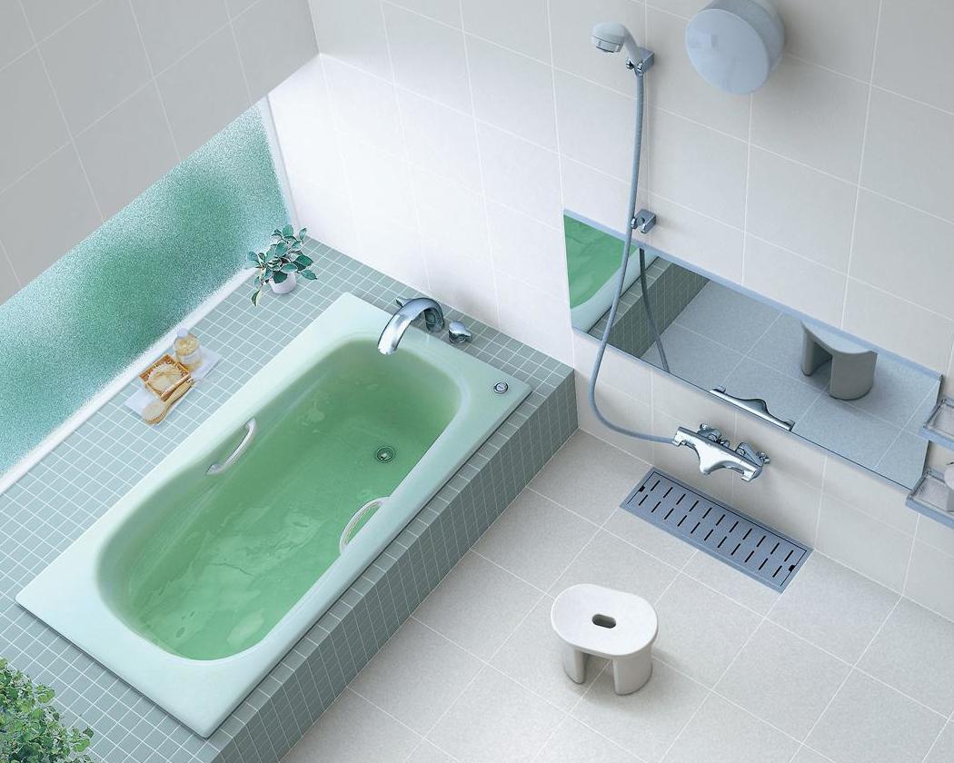TOTO 浴槽 ネオマーブバス エプロンなし ワンプッシュ排水栓 1500サイズ PNS1540RJ PNS1540LJ