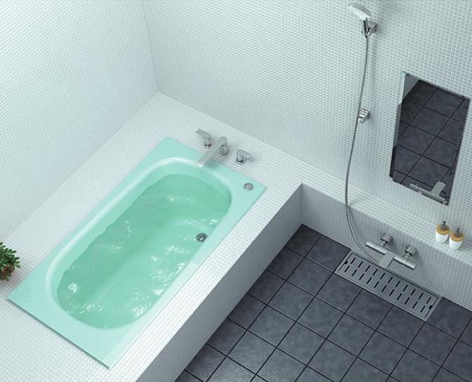 TOTO 浴槽 ネオマーブバス エプロンなしゴム栓式排水栓 1400サイズ PNS1400