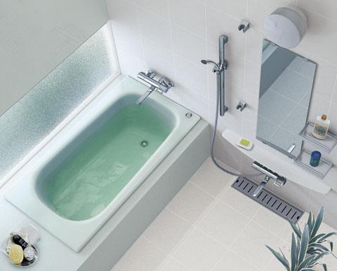 TOTO 浴槽 ネオマーブバス 一方半エプロンゴム栓式排水栓 1400サイズ PNS1401R PNS1401L