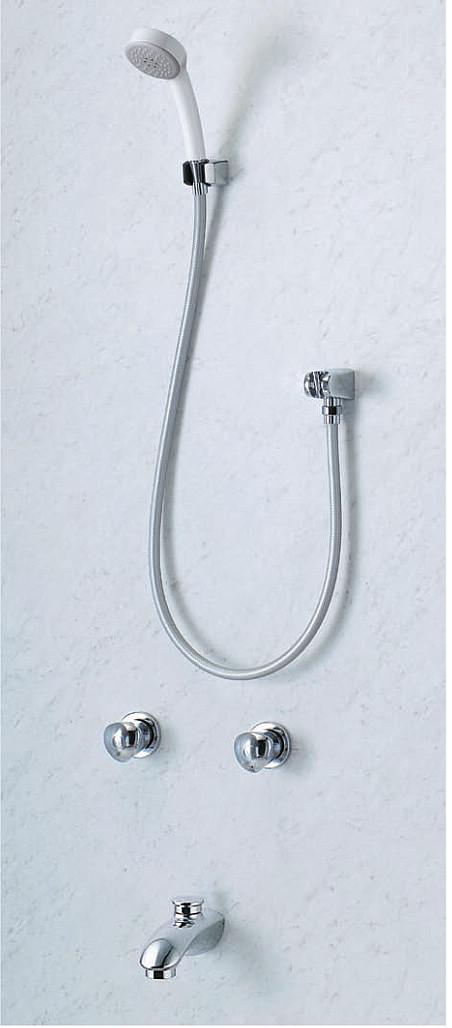 TOTO ホテル・パブリック用水栓埋め込み形シャワーセット Eタイプ TBH19E1R TBH21 TBH2R