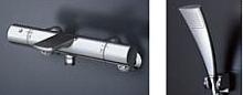 【ご予約品】 TOTO 壁付サーモスタット混合水栓(エアインめっき) TBV01S05J:アクアshop-木材・建築資材・設備