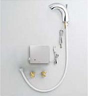 TOTO 台付自動水栓(電気温水器用) AC100Vタイプ ワンプッシュ式 TENA51A2