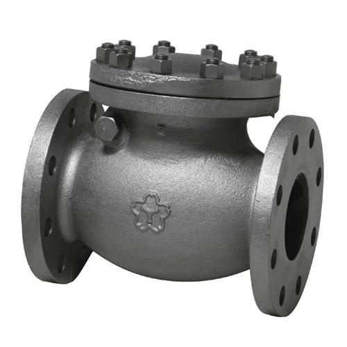 大和バルブ ダクタイル鋳鉄バルブ スイングチェッキ D16C-50A
