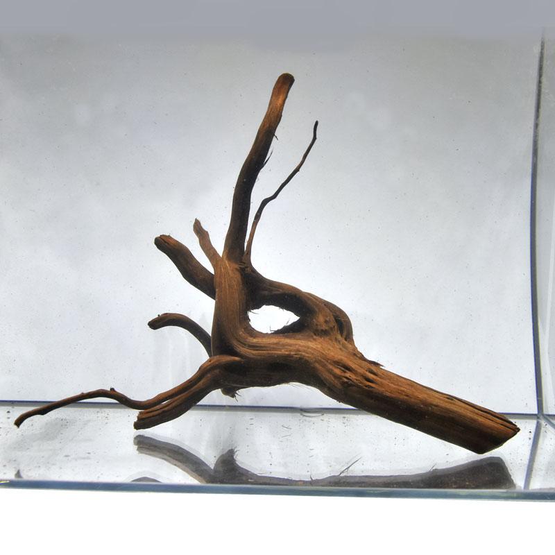 美しい自然の景観のレイアウトに 沈む 枝状流木 ブランチウッド 厳選一点物 商品番号:bok-214☆幅 至上 約30cm 約25cm 期間限定お試し価格 約33cm☆ 高さ 奥行き