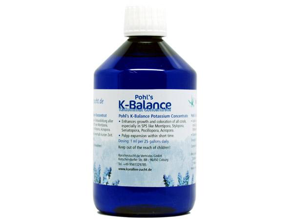 【取り寄せ商品】Pohl's K-Balance 500ml 熱帯魚・アクアリウム 海水用品 Zeovit アクアテイラーズ