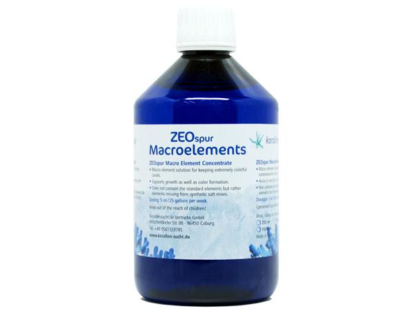 【取り寄せ商品】ZEOspur Macroelements 500ml 熱帯魚・アクアリウム 海水用品 Zeovit アクアテイラーズ