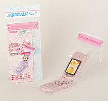 "★ sitz bath ""bathroom in your mobile phone. ' Mobile phone waterproof softcase アクアトーク Flex plus bathroom for """""