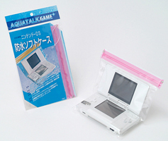 "Game ★ portable game machines for waterproof softcase ""アクアトーク plus"" Nintendo DS """""