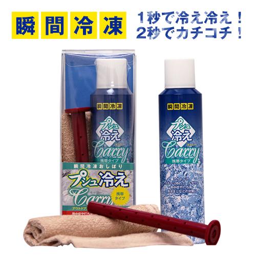 【プシュ冷えキャリー 直噴併用ノズル付×24本セット】【送料無料】