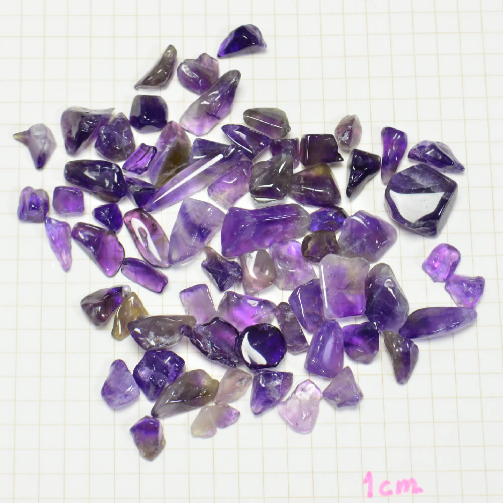 Natural Stone Amethyst Pebble Purification Up