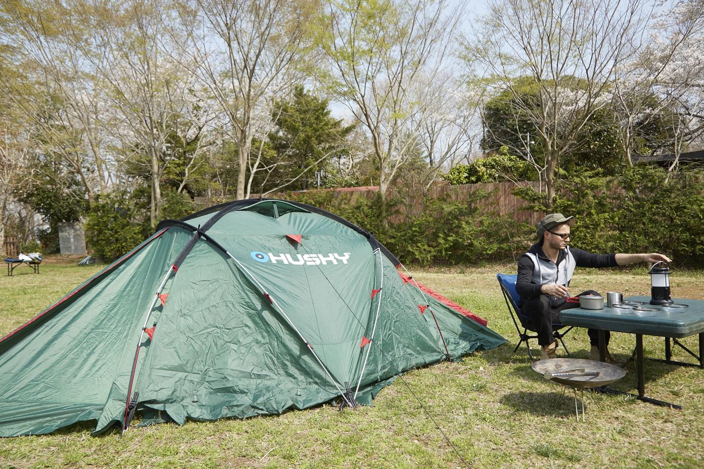 キャンプ テント 3人用 4人用 ツーリング ドームテント Husky ハスキー Fighter ファイター ソロキャンプ おすすめ 登山 2人用 ソロテント 軽量 防水 通気性 コンパクト 災害用 防災用