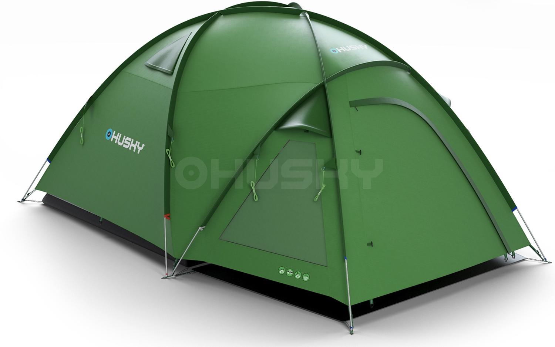 Husky ファミリー向けテントBigless 5人 アウトドア用品 キャンプ テント