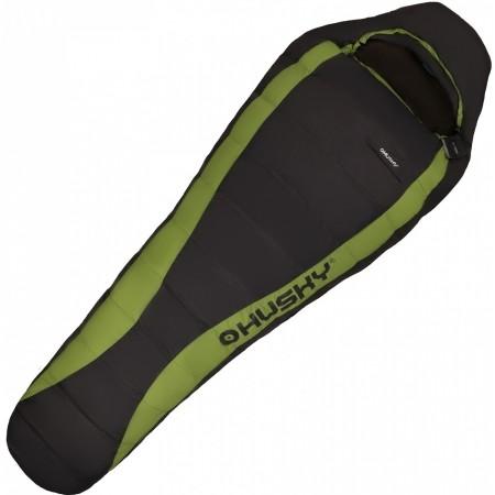 寝袋 シュラフ マミー型 グースダウン 軽量 コンパクト Husky ハスキー Dinis 700フィルパワー