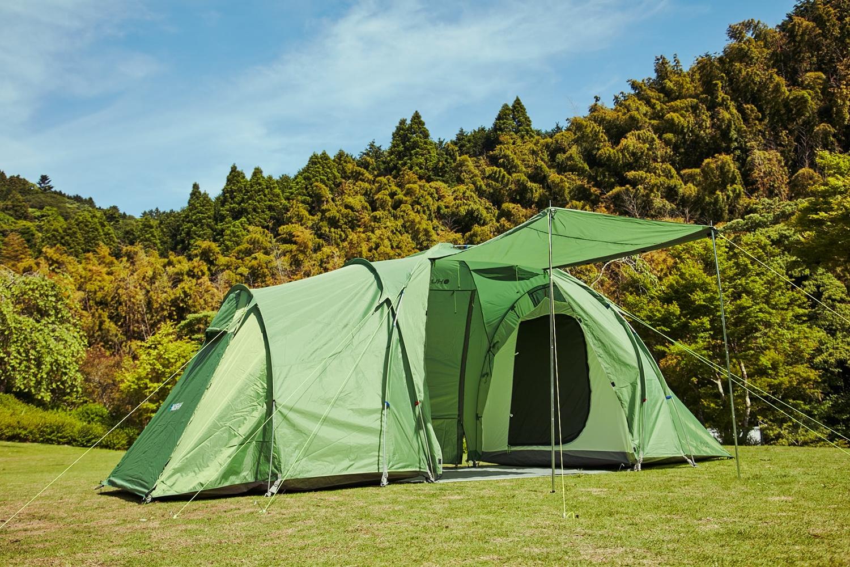 ハスキー テント トンネルテント Boston 6 Husky カマボコテント ファミリーテント ツールームテント 大型テント