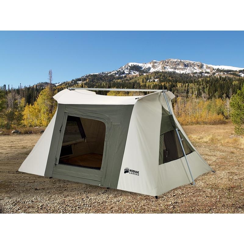 KODIAK CANVAS 2人用 Flex-Bow VX コディアック キャンバス コディアック カンバス テント コットンテント アウトドア キャンプ 防水 ファミリー 家族 大型 国内正規品