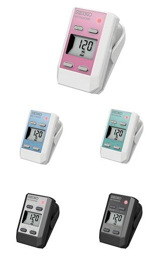 送料無料 セイコー 電子メトロノーム 時計がついたPOPで可愛いクリップタイプメトロノーム ※ラッピング ※ DM-51 DM51 SEIKO AL完売しました