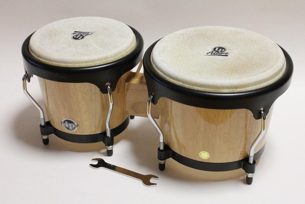 LP Aspire Wood Bongos LPA601 -AW 限定特価!