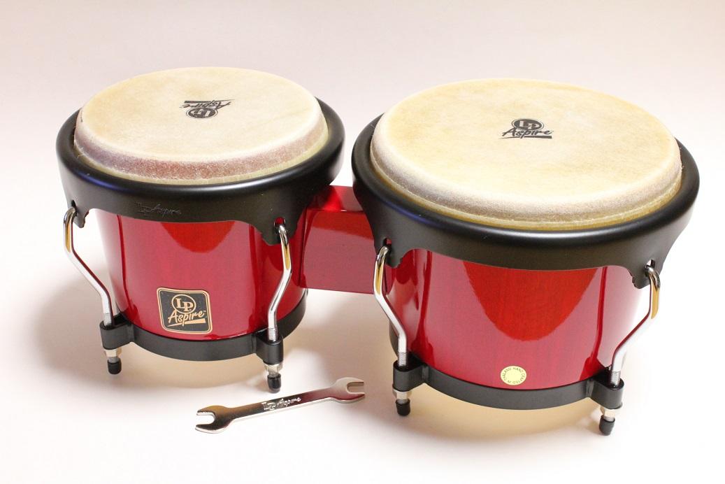 LP Aspire Wood Bongos LPA601 -RW 限定特価!