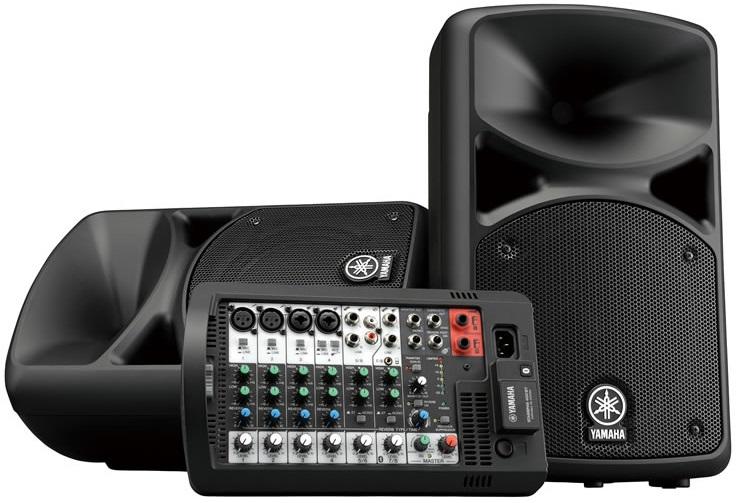 YAMAHA STAGEPAS 400BT 簡単!高音質!高出力!ポータブルPAシステム