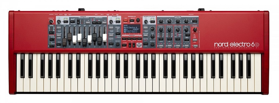 Nord Electro 6D 61 61鍵セミウェイテッド・ウォーターフォール鍵盤