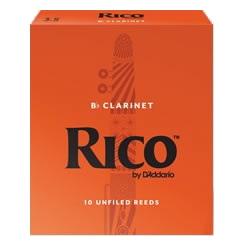 送料無料 ダダリオ リコ B♭ クラリネット用リード 一番人気の 数量限定 10枚入り リード Reeds 宅送 RICO Clarinet クラリネット D'Addario