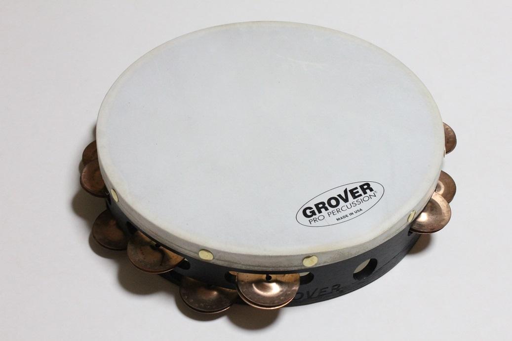 GROVER Tambourines GV-T2PHBR