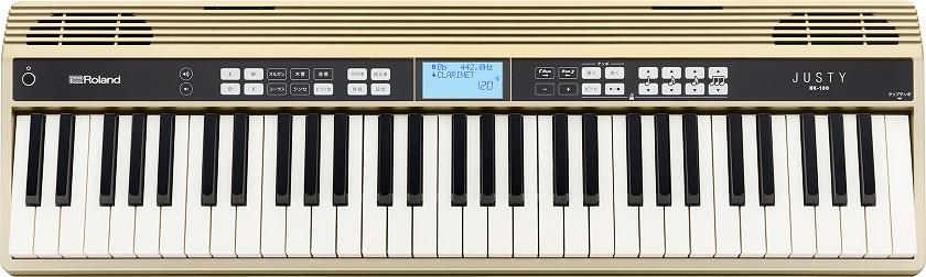 Roland JUSTY HK-100 ハーモニー&リズム練習用キーボード